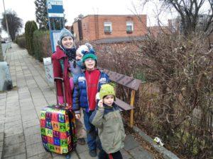 rodina na cestách