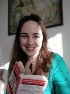 Ingrid s knížkou