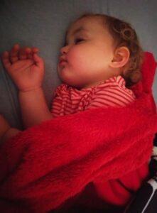 Luisa spí